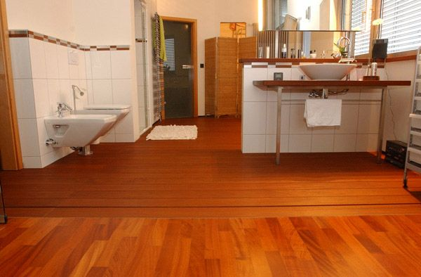 massivholzdielen f rs badezimmer vom profi aus saarbr cken. Black Bedroom Furniture Sets. Home Design Ideas