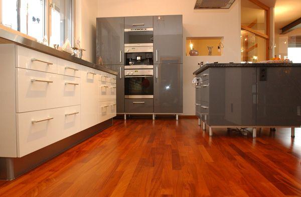 Zweischichtparkett von bickelmann in saarbrucken kuche for Küchen saarbrücken